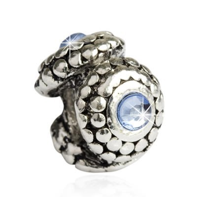 Pandora Happiness Blue Bead With Stone