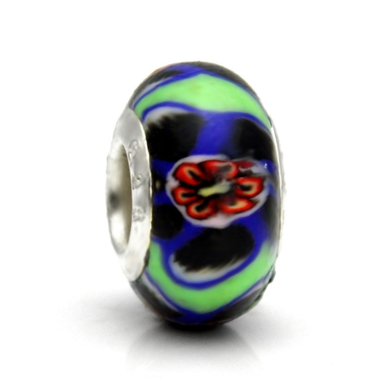 Pandora Polymer Clay Bead RT041