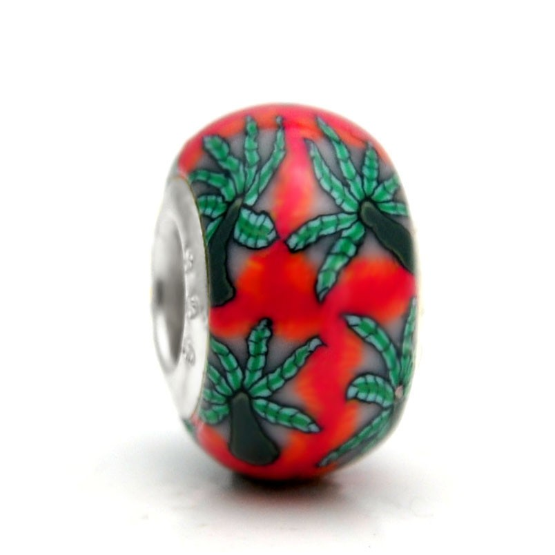 Pandora Polymer Clay Bead RT061