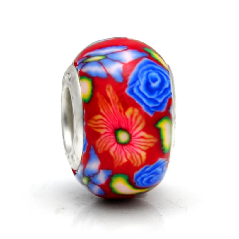 Pandora Polymer Clay Bead RT007