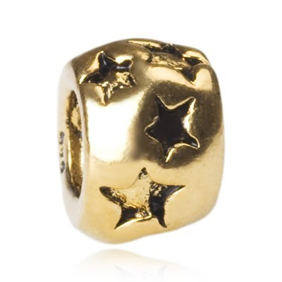 Cheap Pandora Stars Gold Bead Sale