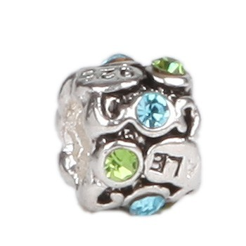 Pandora A-Series Silver Bead With Stone