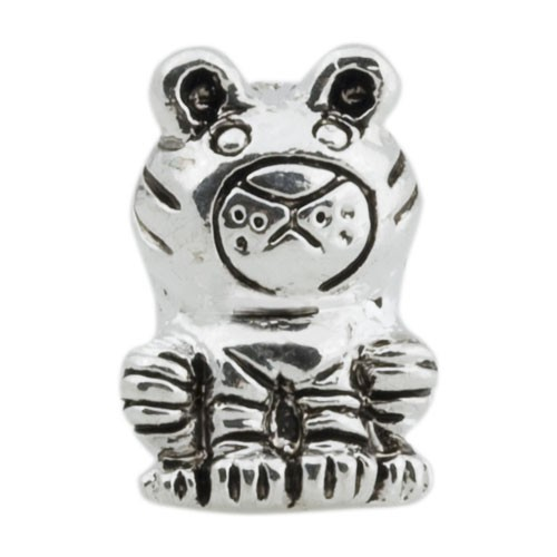 Pandora Bear Silver Animal Bead