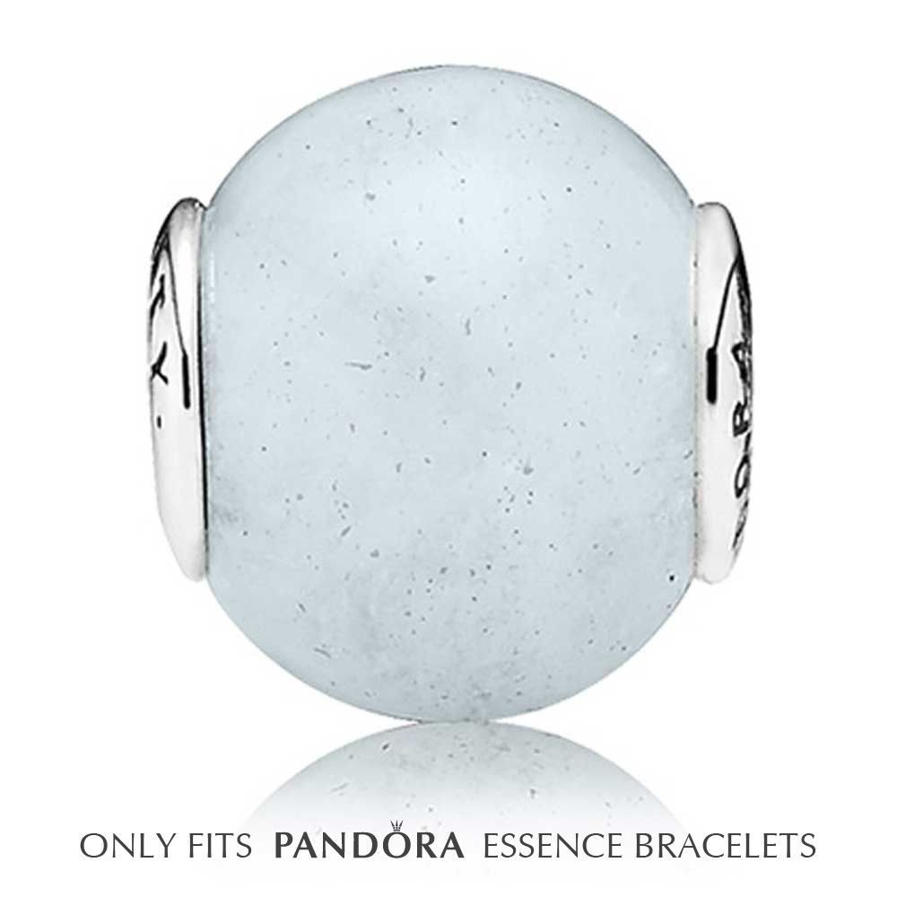 Pandora Essence Silver Aquamarine LOYALTY Bead pandora53-1287