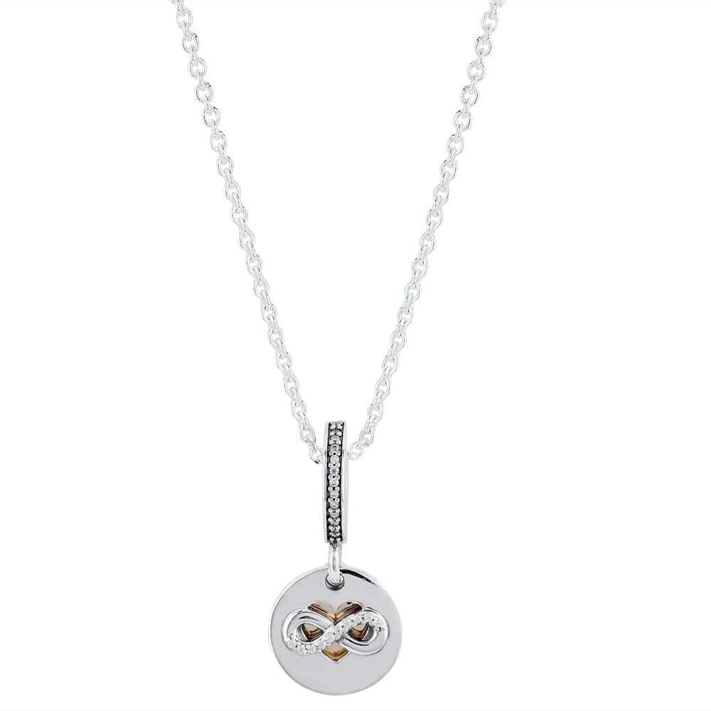 Pandora Heart Of Infinity Complete Necklace pandora53-1184