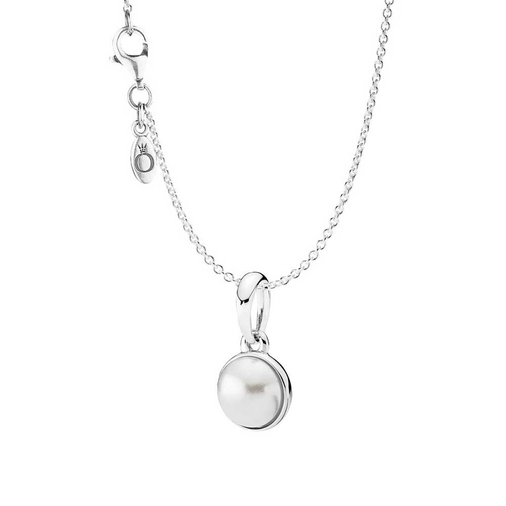 Pandora Luminous Droplet Necklace pandora53-1082